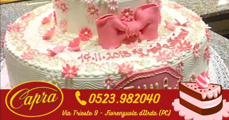 Offerta torte personalizzate per battesimo bimbo bimba Piacenza - Occasione torte di compleanno moderne