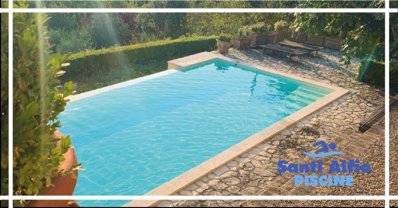 santi alfio offerta manutenzione settimanale piscina - occasione prodotti per piscine perugia
