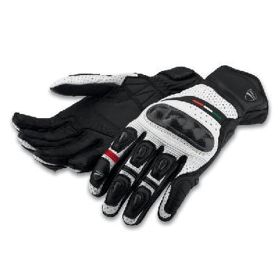 guanti diavel c2 white black total black