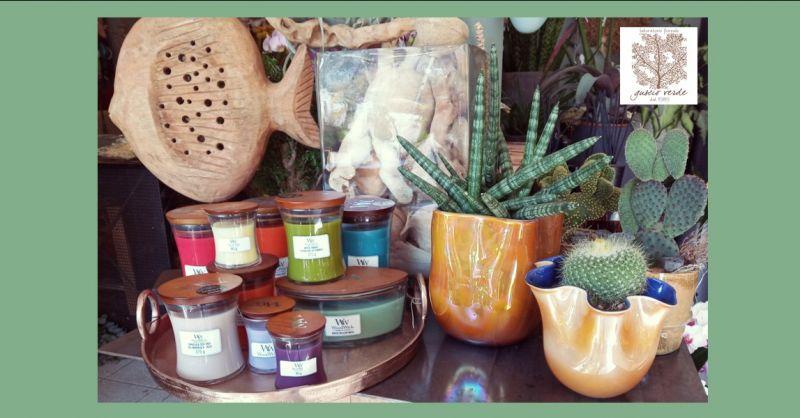 FIORERIA GUSCIO VERDE - Offerta vendita candele profumate Woodwick Treviso