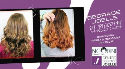 offerta trattamento capelli degrade joelle a treviso occasione parrucchiera a treviso specializzata nel colore naturale a treviso