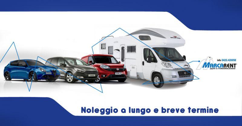 Offerta Noleggio a breve e lungo termine auto e furgoni a Treviso -  Autonoleggio Marca Rent