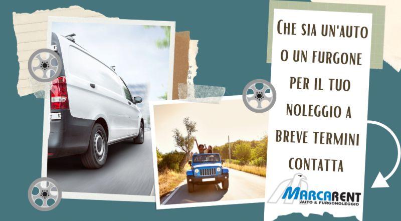 Occasione noleggio auto a breve termine a Treviso – offerta noleggio furgoni da lavoro a breve termine a Treviso