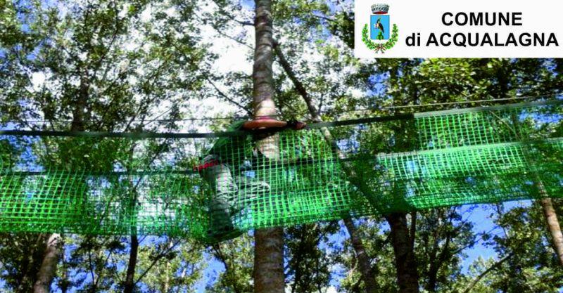 Comune Acqualagna offerta parco avventura - occasione gola del furlo