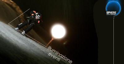 offerta servizio professionale illuminazione eventi con palloni luminosi sphere srl