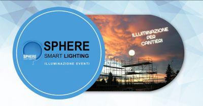 offerta realizzazione sfere luminose per cantieri villorba vendita palloni luminosi cantieri