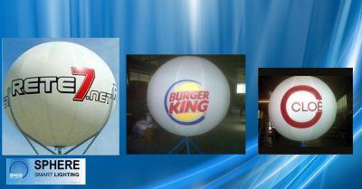 sphere offerta pallone pubblicitario sponsorizzazione occasione sfere luminose per spettacoli