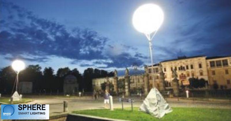 Sphere offerta servizio luce mobile - occasione impianto di illuminazione portatile Villorba