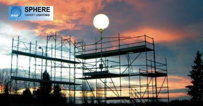 sphere occasione illuminazione cantieri offerta impianti elettrici attivita lavorative