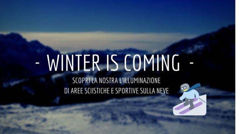 Vendita impianti di illuminazione per piste da sci a Treviso -  offerta illuminazione per show park a Treviso