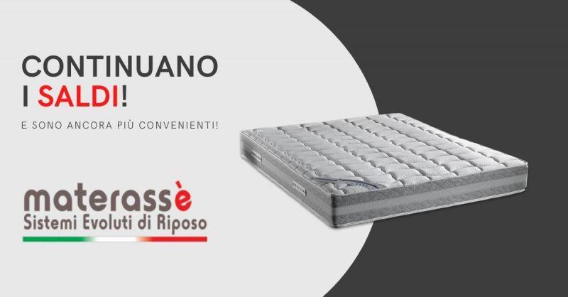 MATERASSE Cagliari - promozione materassi al 50% di sconto