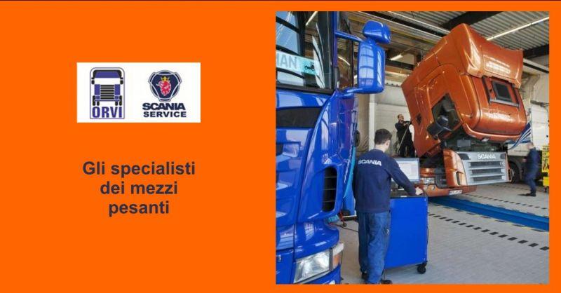 ORVI offerta revisione Udine - occasione revisione mezzi pesanti Udine