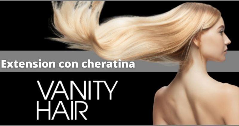offerta extension con cheratina Versilia - promozione extension con cheratina Lucca