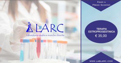 laboratorio analisi e ricerche cliniche offerta terapia estroprogestinica