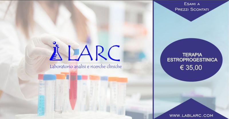 Laboratorio Analisi e Ricerche Cliniche - offerta terapia estroprogestinica