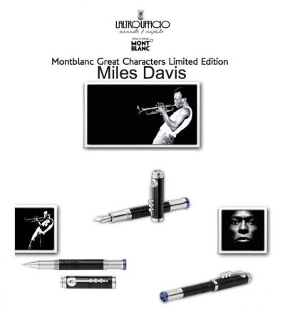 offerta occasione promozione montblanc great characters limited edition miles davis terni