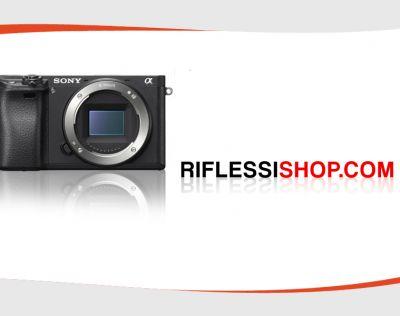 offerta vendita fotocamera sony mirroless 6300 a torino riflessi digital point