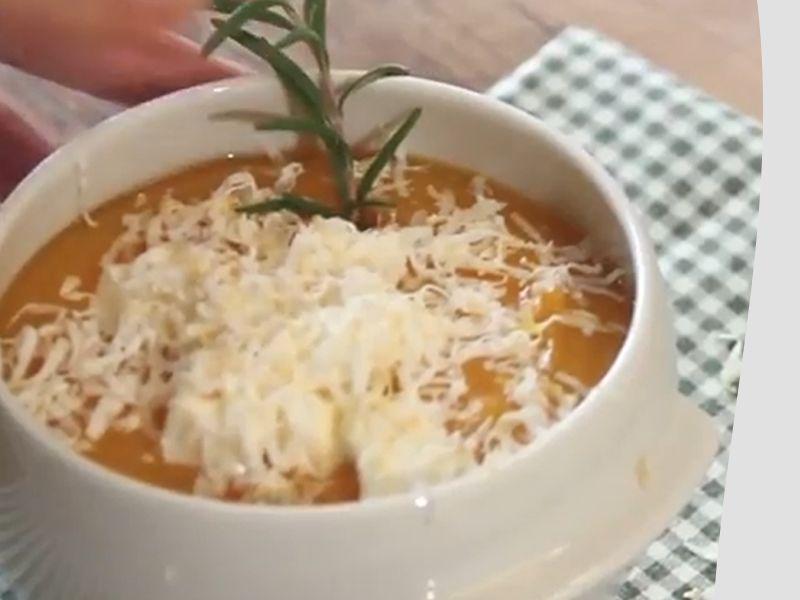 Promozione - vellutata di zucca e casatella - Offerta Povegliano - Occasione - ricette