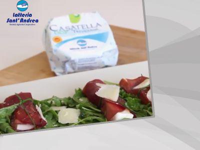 promozione casatella povegliano offerta fagottino di bresaola latteria santandrea