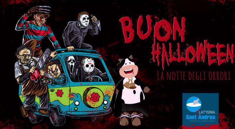 LATTERIA SANTANDREA Offerta Buon Halloween Povegliano - Promozione dolcetto o scherzetto