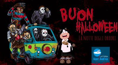 latteria santandrea offerta buon halloween povegliano promozione dolcetto o scherzetto
