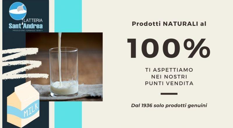Vendita latte e formaggi biologico a Treviso - Occasione latteria a Treviso