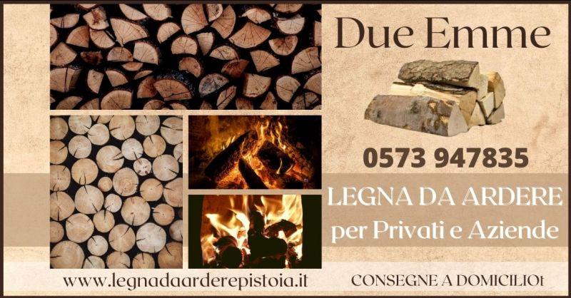 offerta vendita legna da ardere per privati e aziende Pistoia - vendita pellet e carbone