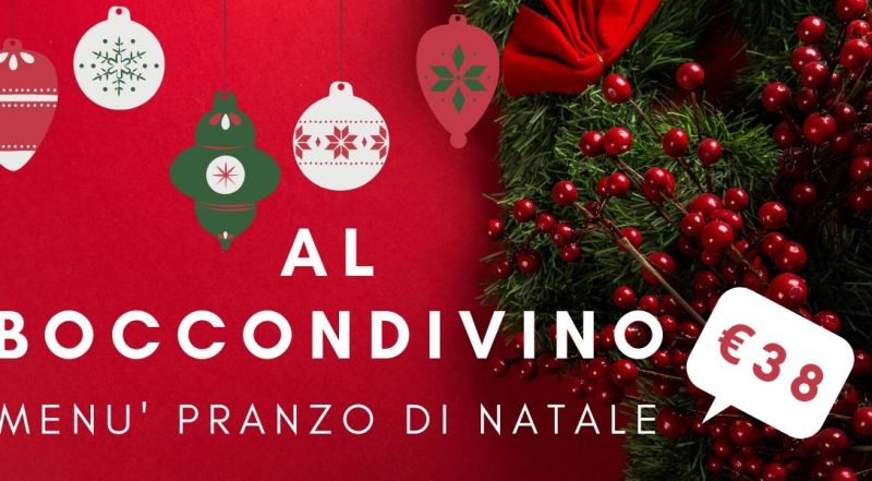 Al Boccondivino offerta pranzo di Natale Pordenone - Occasione menù di Nalate ristorante tipico Pordenone