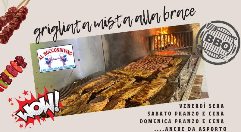 Occasione ristorante che fa grigliate di carne all'aperto a Pordenone – offerta ristornate con menù di carne alla griglia a Pordenone