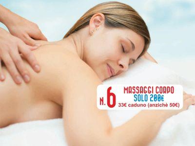 offerta massaggi promozione giugno corpo centro estetico patrizia trapani