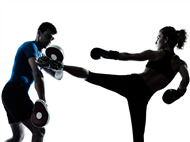 corsi di kick boxing per principianti ed avanzati provali da village fitness