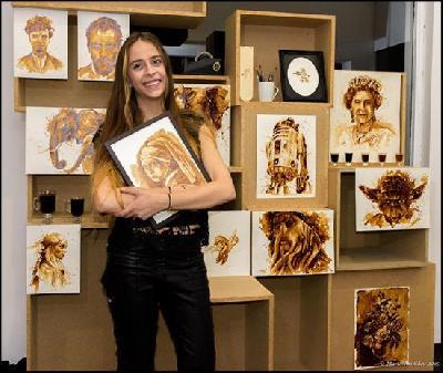 maria a aristidou quando il caffe diventa pittura diba 70 rassegna stampa