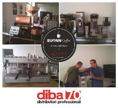 caff 232 filtro corso di formazione per diba 70 a milano con bunn europa e orveca