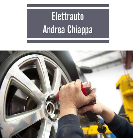 All'Officina Elettrauto Meccanico Andrea Chiappa trovi tutto per le gomme della tua auto. Scopri di più!
