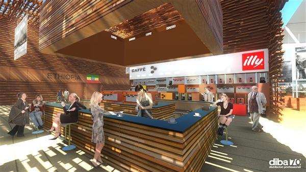 Expo 2015. Il Cluster del caffè supera il milione di visitatori - Diba 70 distributori professionale, rassegna stampa