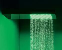 soffione doccia cromoterapia