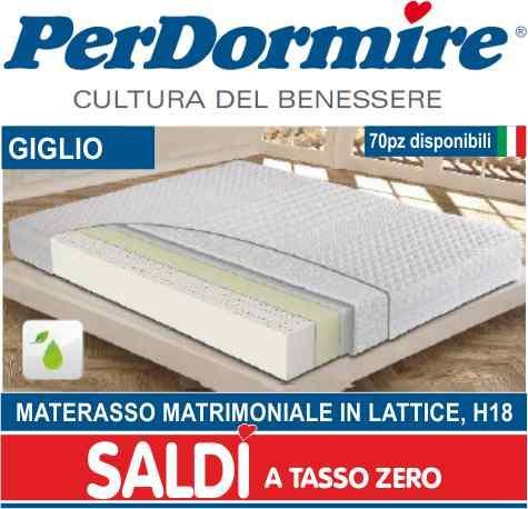 Per Dormire Materassi.Giglio Materasso Matrimoniale In Lattice H18 A La Spezia Sihappy