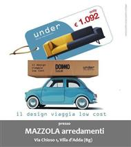 il design viaggia low cost