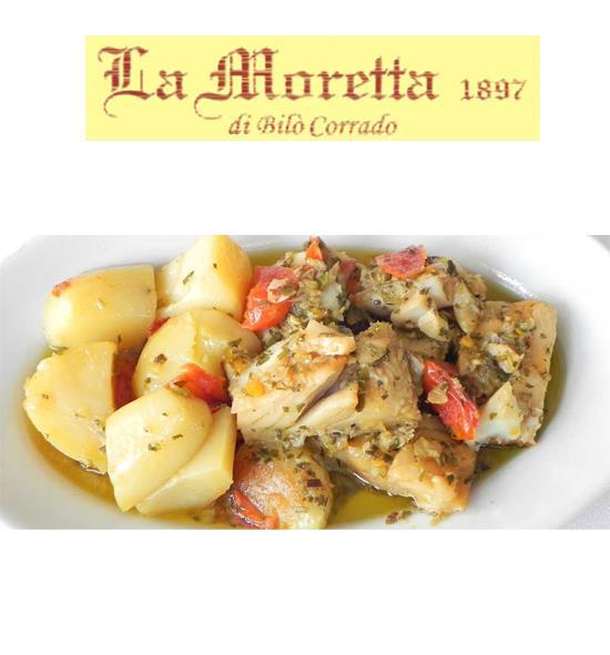 Alla Moretta trovi il MENU' A BASE DI PESCE, vieni a gustarlo!