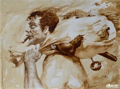 la pittura al caff 232 del cubano reynier llanes diba 70 distributori professionali rassegna stampa