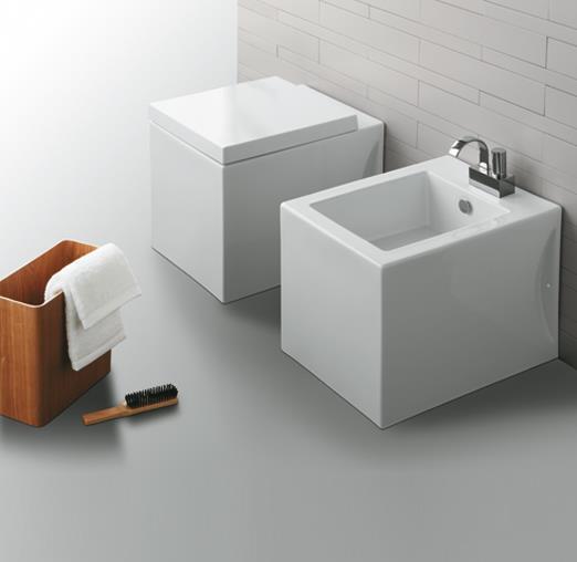 sanitari simas frozen serie completa di lavabo