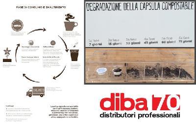 ecomondo premiata la capsula caff 232 compostabile di lavazza e novamont diba 70 distributori professionali rassegna stampa