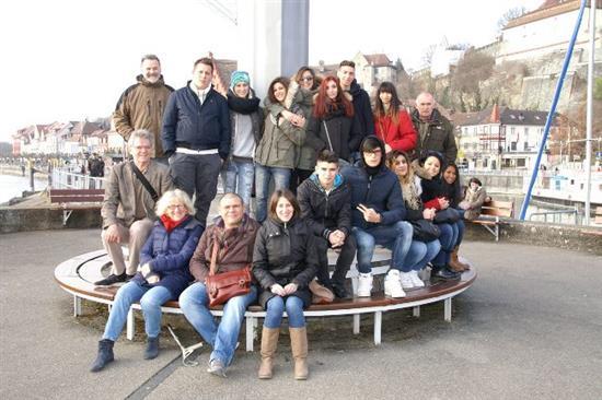 Studenti dellIstituto Bettino Ricasoli di Siena, sezione enogastronomica di San Gimignano, a Meersburg - Diba 70 Ho.R.eCa. rassegna stampa