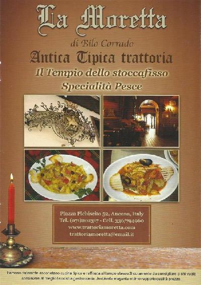 ristorante del centro storico