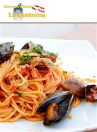il ristorante pizzeria la lanterna ti aspetta con gustosi piatti di pesce fresco vieni