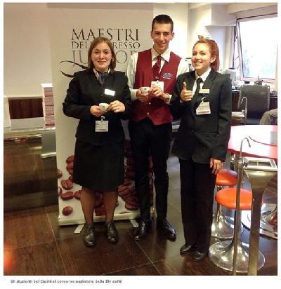 listituto alberghiero casini sul podio nel concorso nazionale della illy caffe diba 70 hotellerie restaurant cafe rassegna stampa