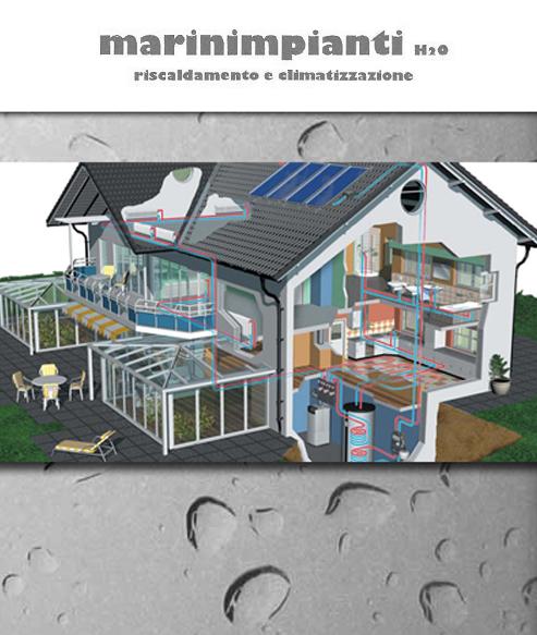 marinimpianti h2o impianti idraulici e termoidraulici condizionamento aria pannelli solari