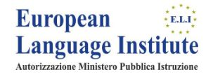 EUROPEAN LANGUAGE INSTITUTE